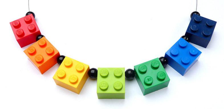 lego on string